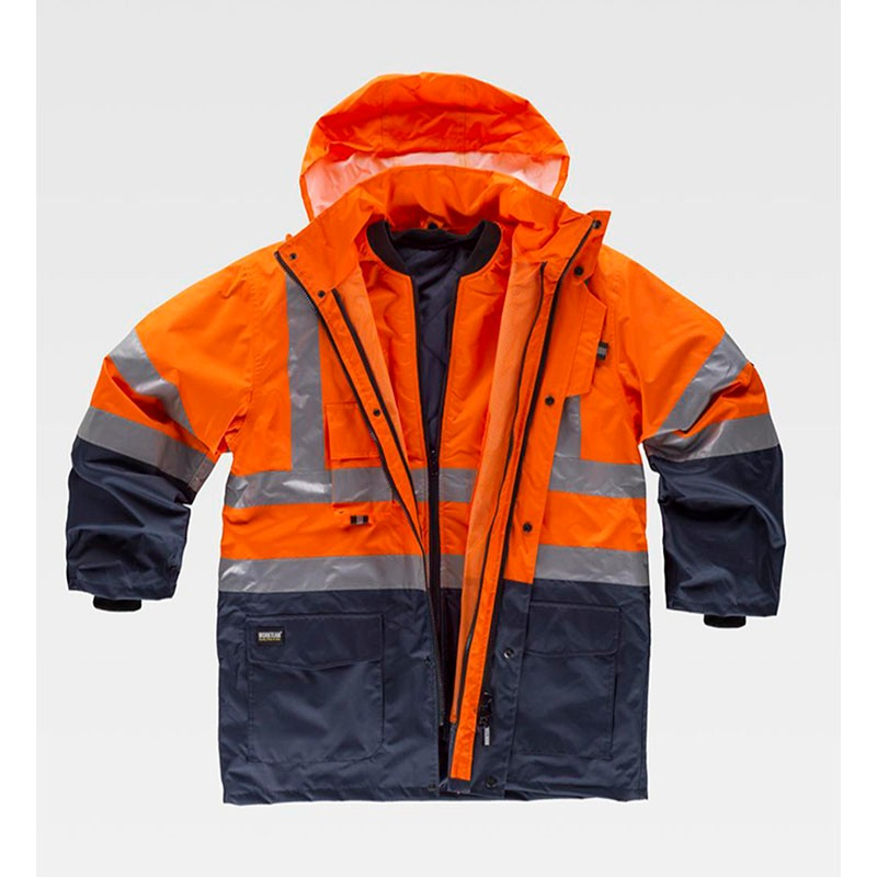 IMPERMEABLE-CONVERTIBLE-NARANJA