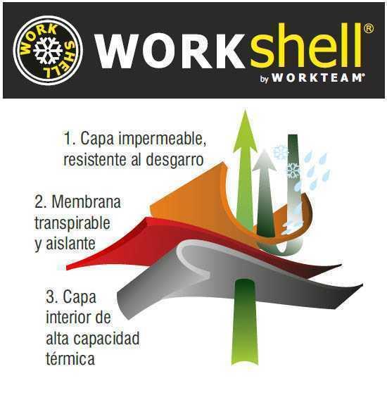 Chaqueta-Workshell-de-Alta-Visibilidad-combinada